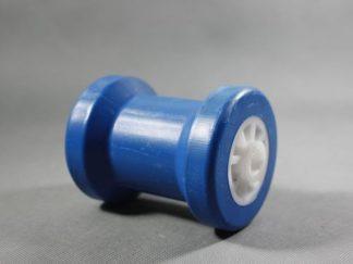 Rolka kilowa niebieska niebrudząca do przyczepy podłodziowej