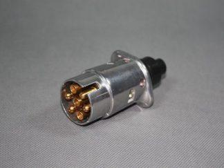 Wtyczka 7 pin w obudowie metalowej