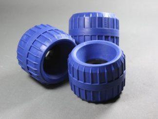 rolka boczna gumowa niebieska niebrudząca kubix