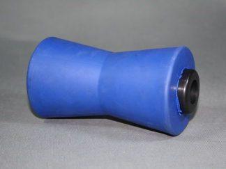 rolka kilowa gumowa niebieska niebrudząca do przyczepy podłodziowej kubix