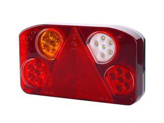 Zespolona lampa diodowa prostokątna tylna Horpol lewa 845
