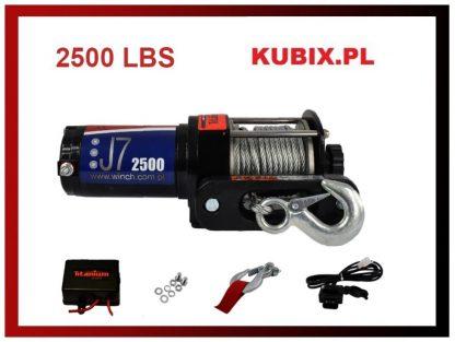 Wciągarka elektryczna ATV 2500 lbs 1125kg