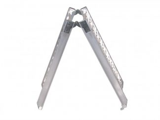 Rampa najazdowa 295x1800mm, 200kg, aluminium, składana